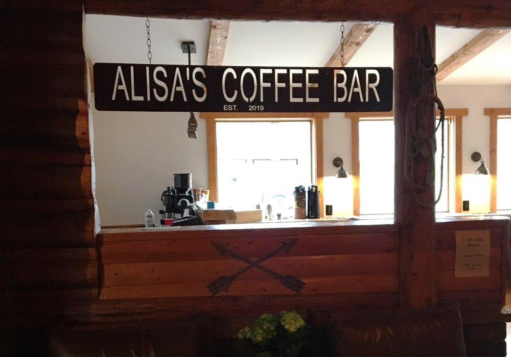 Coffee Bar Yellowstone Valley Inn